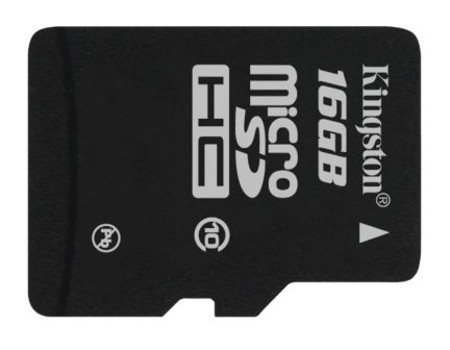Kingston microSD card