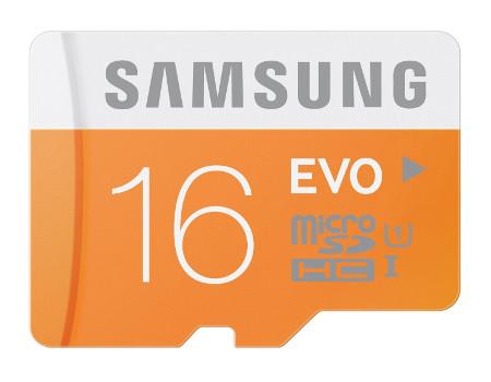 Samsung EVO microSD card