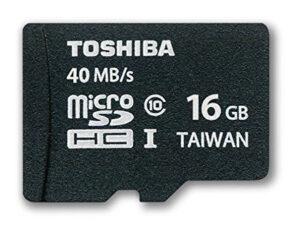 Toshiba microSD card