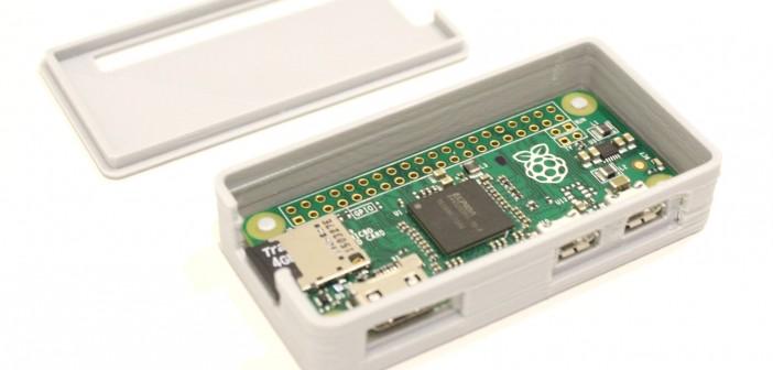 3D Printed Adafruit Raspberryy Pi Zero Case