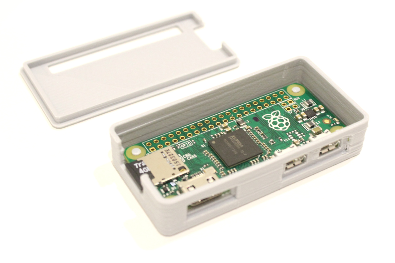 3D Printed Adafruit Raspberryy Pi Zero Case - Raspberry Pi Spy