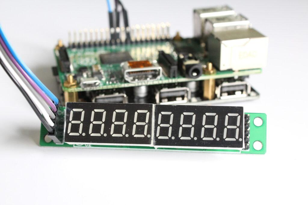 7 Segment Display and the Raspberry Pi