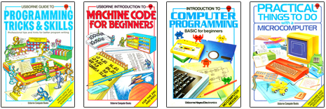 1980s introduction to programming book covers
