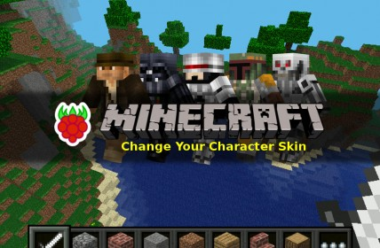 Change Skin in Minecraft Pi Edition