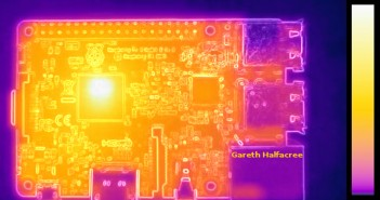 Raspberry Pi 3 Thermal (Gareth Halfacree)
