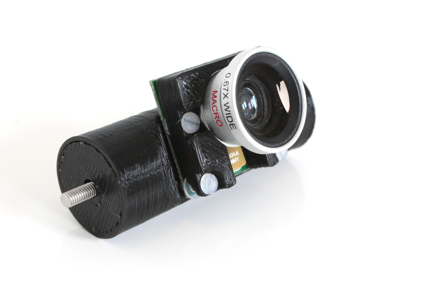 Pi Camera 3d Printed Magnetic Lens Mount Raspberry Pi Spy