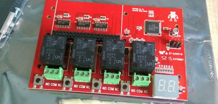 PiOT Relay Board