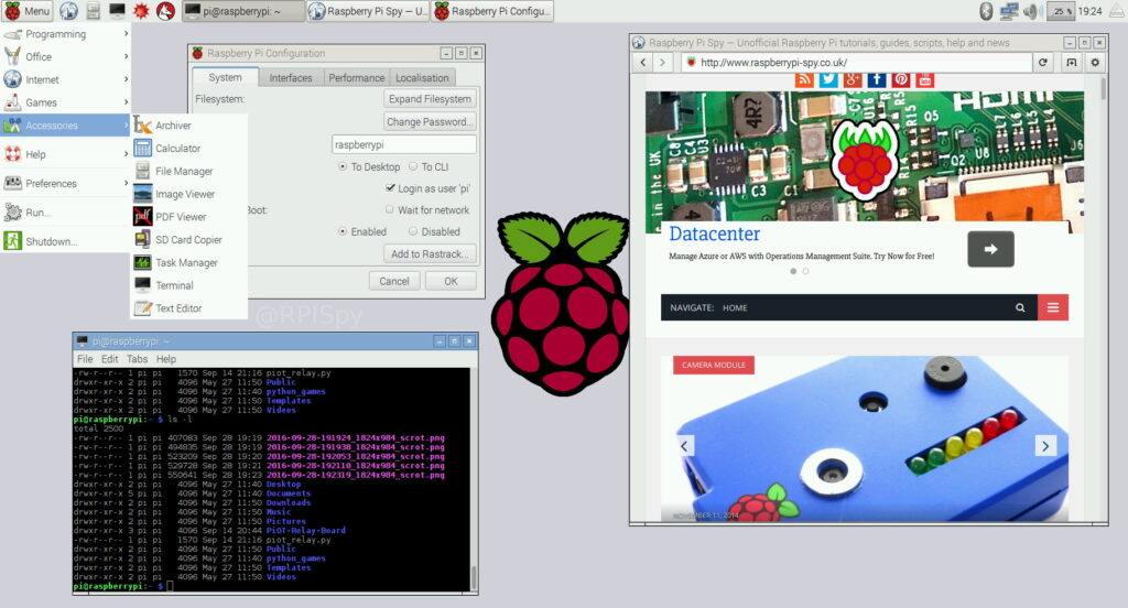 Introducing Pixel The New Raspbian Desktop Raspberry Pi Spy