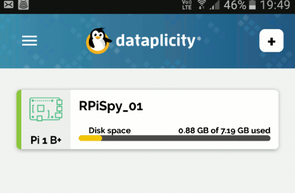 Dataplicity Android App