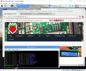 PIXEL Desktop in VirtualBox