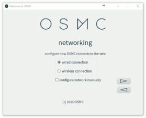 OSMC Installation Wizard