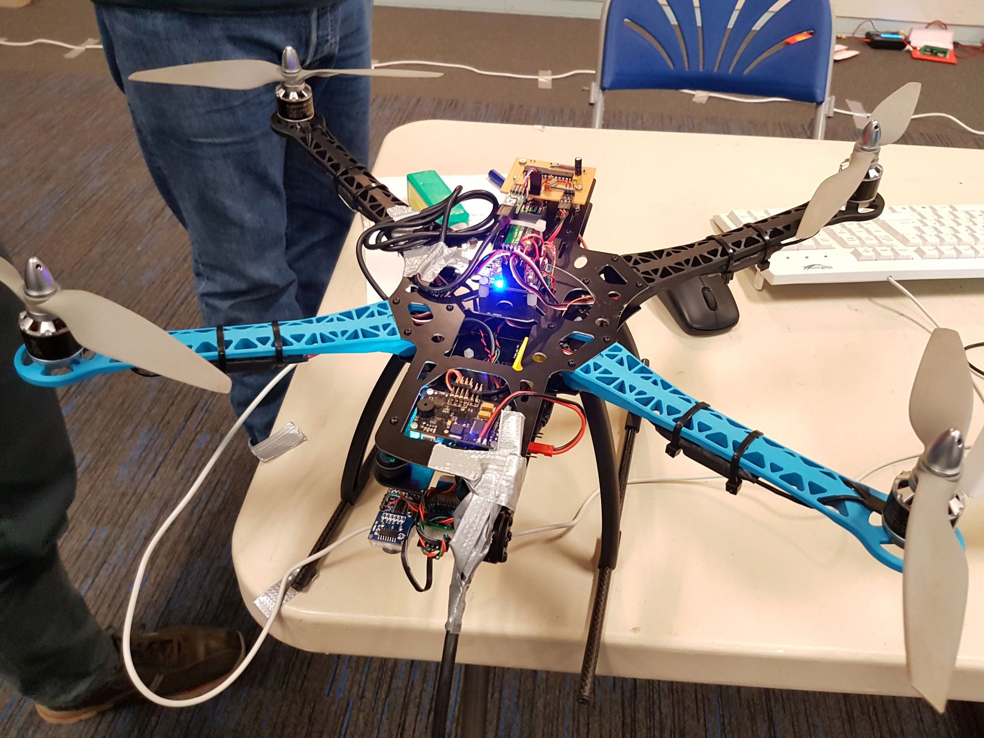MAAXX Drone Racing Event at UWE Bristol - Raspberry Pi Spy