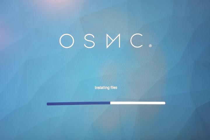 OSMC installing files