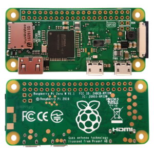Pi Zero W Front and Back