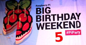 Raspberry Pi 5th Birthday Party
