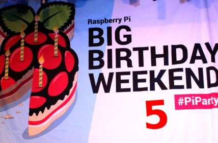 Raspberry Pi 5th Birthday Party