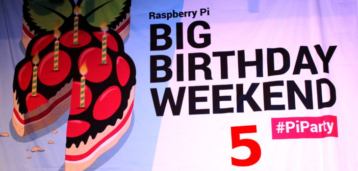 Raspberry Pi 5th Birthday Party in Cambridge