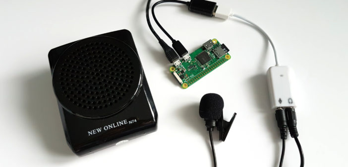 Amplified Voice Changer using a Raspberry Pi Zero - Raspberry Pi Spy