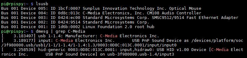 USB Audio Adapter lusb output