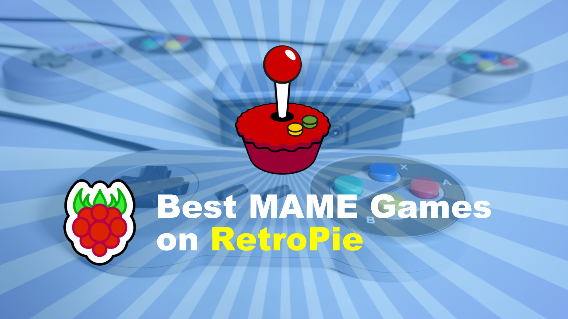 Best MAME Games on my Raspberry Pi RetroPie System
