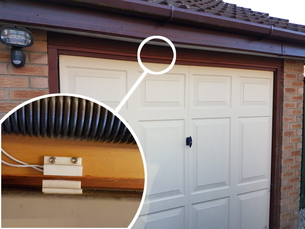 Garage Door Magnetic Switch
