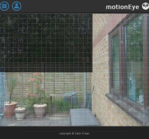 motionEyeOS detection masking setup