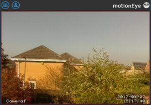 MotionEyeOS Pi Zero W camera