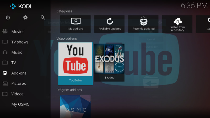 Installing the YouTube Video Plugin for Kodi - Raspberry Pi Spy