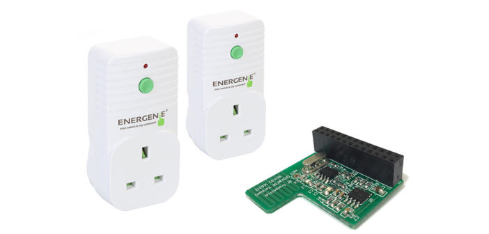 Energenie Sockets and Pi-mote Kit