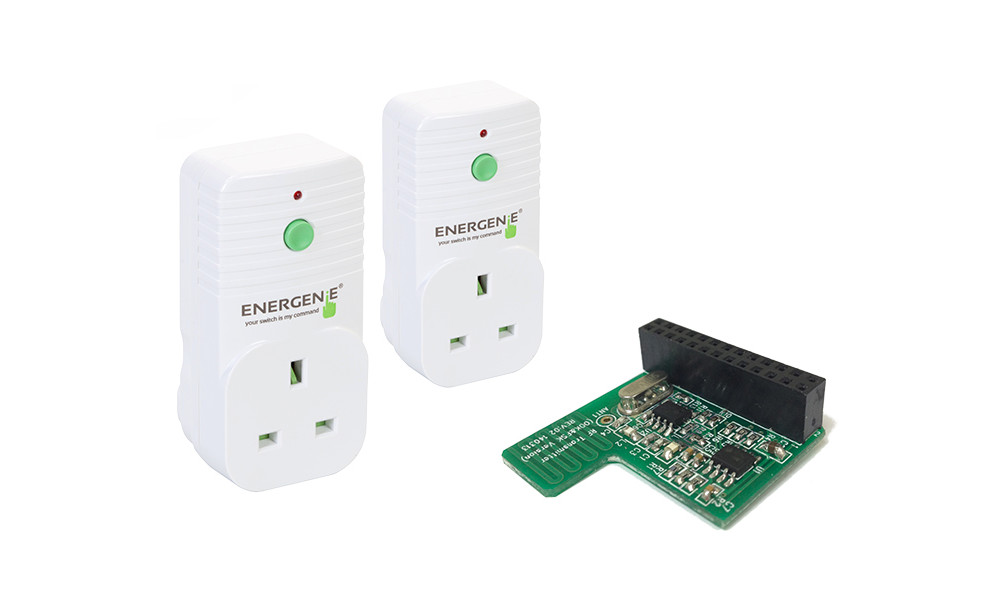 Controlling Energenie Power Sockets with the Pi-mote Addon
