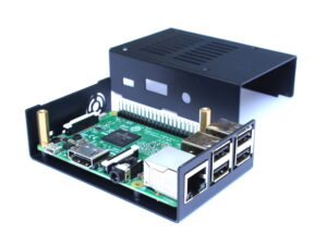 KKSB Raspberry Pi Case - Black metal