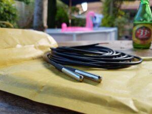 DS18B20 waterproof temp sensors
