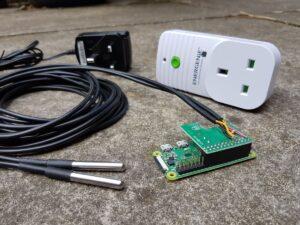 Pool Temperature Monitoring and Pump Control with the Pi Zero W