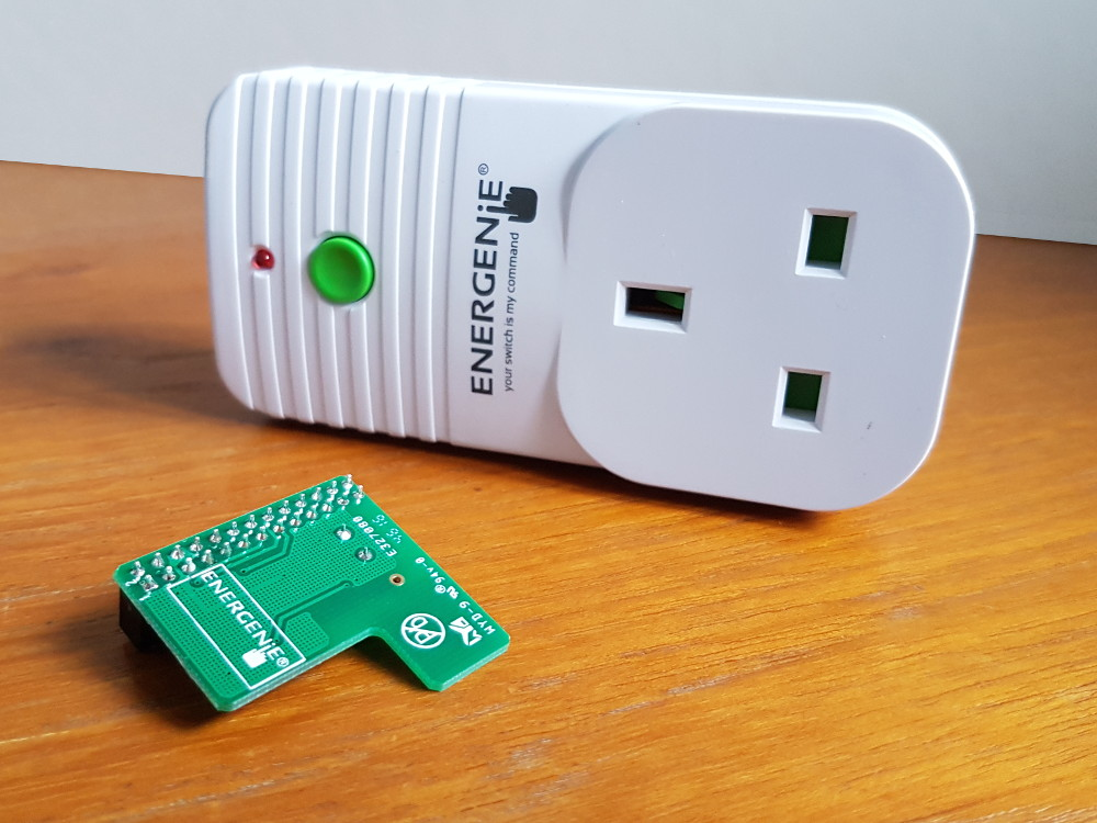 Energenie Socket and Pi-mote
