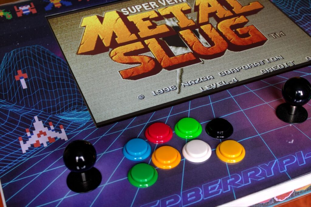 RetroPie IKEA Arcade Table - Metal Slug