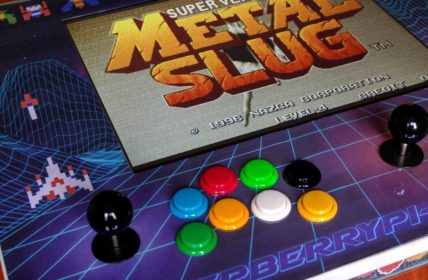 IKEA Arcade Table - Metal Slug