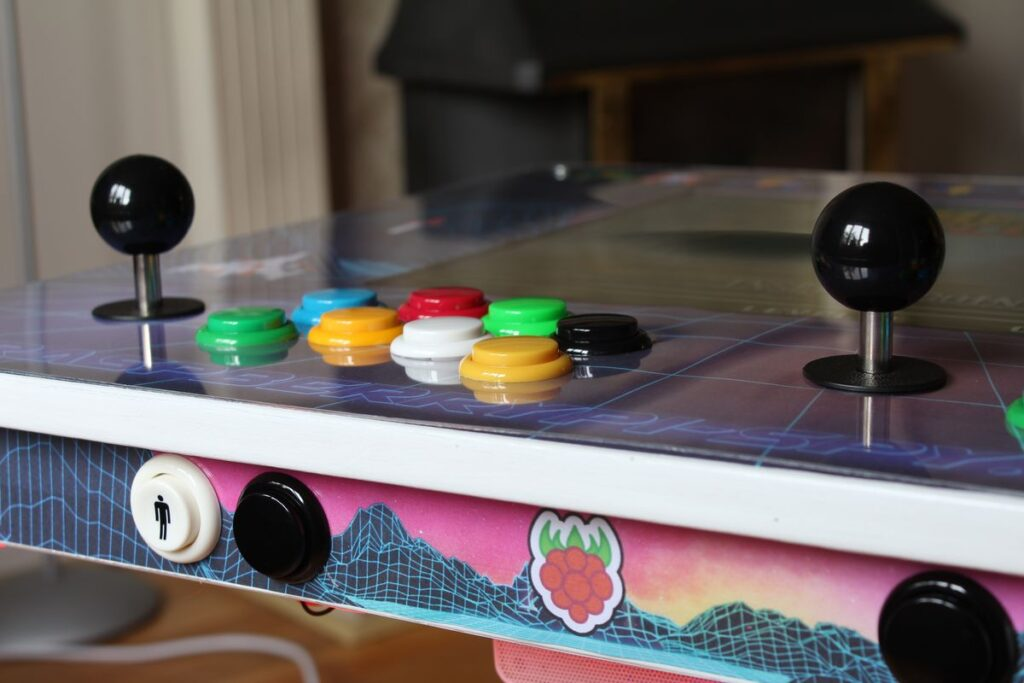 retropie ikea arcade table based on a raspberry pi raspberry pi spy. Black Bedroom Furniture Sets. Home Design Ideas