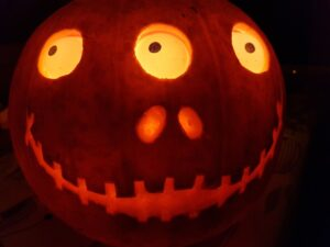 3 Eyed Pi Powered Pumpkin