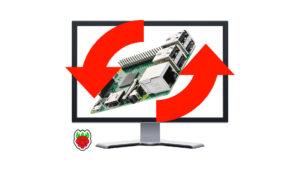 Rotate Raspberry Pi screen