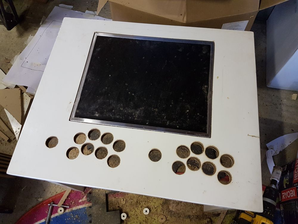 Building My Raspberry Pi Arcade Table - Raspberry Pi Spy