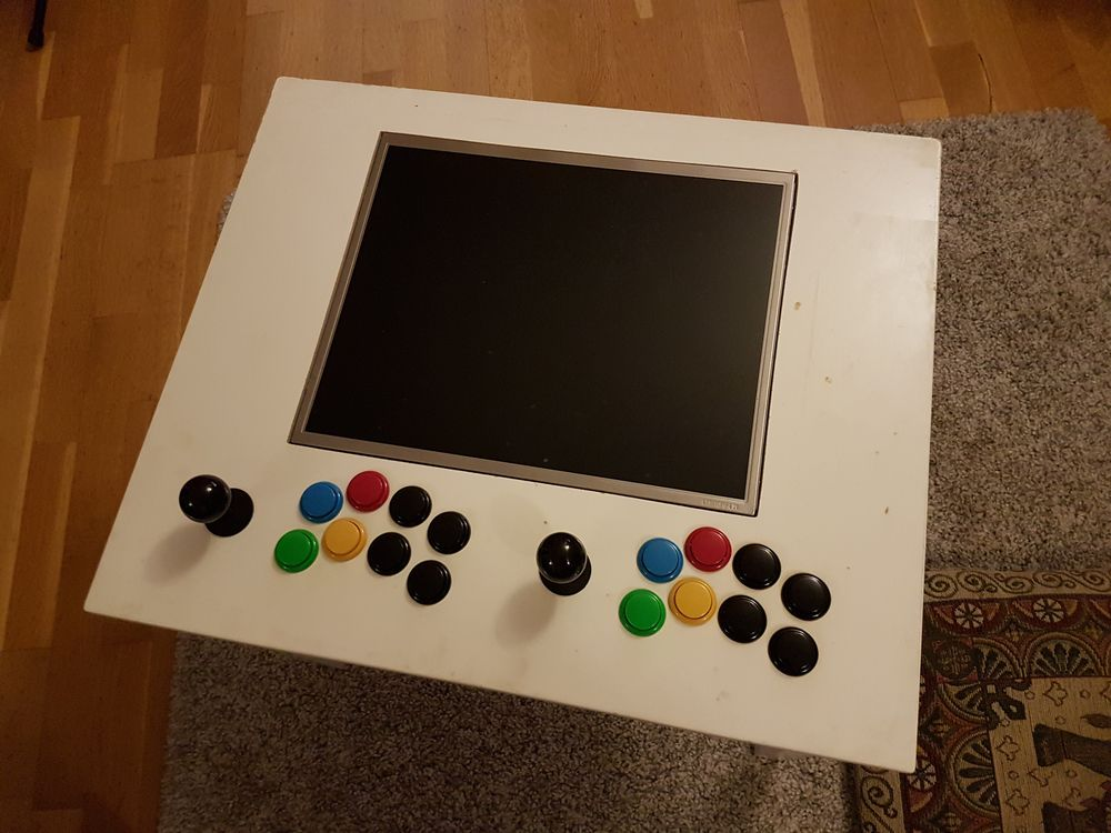 Building My Raspberry Pi Arcade Table Raspberry Pi Spy