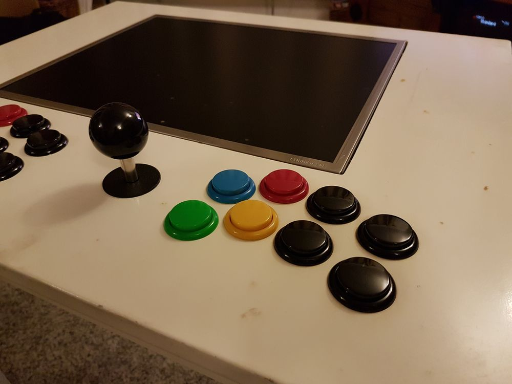 Building My Raspberry Pi Arcade Table - Raspberry Pi Spy