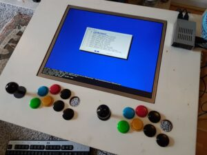 Raspberry Pi arcade build