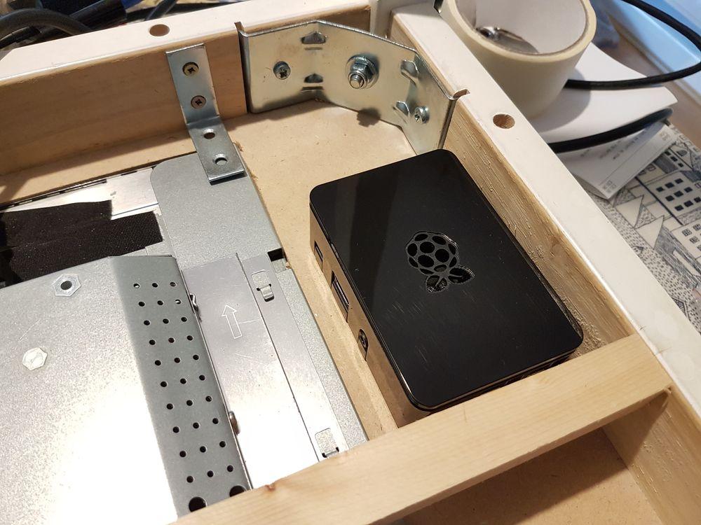 rpispy ikea table build 24 raspberry pi spy. Black Bedroom Furniture Sets. Home Design Ideas