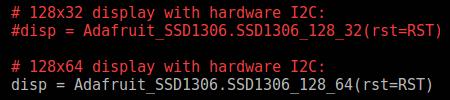 I2C OLED Display Python Examples