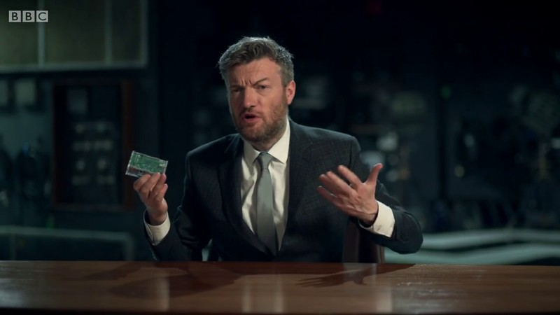 Pin in Charlie Brooker's Election Wipe 2015 TV Show