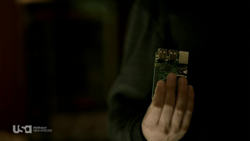 Pi in Mr. Robot TV Show