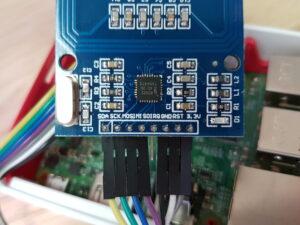 RFID RC522 Module header pins