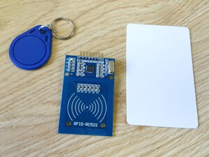 RFID RC522 reader and MIFARE tags