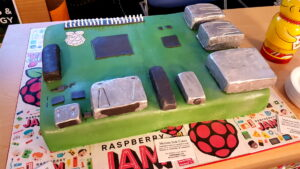 Pi Party Cotswold Jam Cake